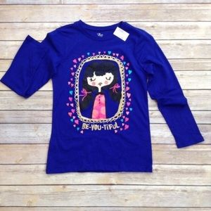 Children's Place long sleeve graphic tee